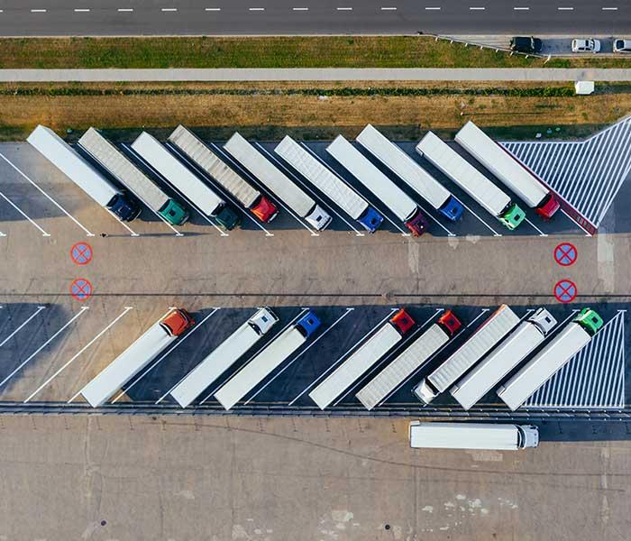 19 trucks parked diagonally   Externalized Authorization