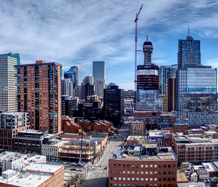 Skyline of a modern city | Government cyber security