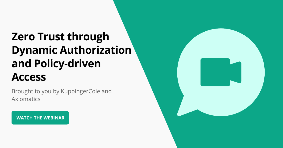 Zero Trust through Dynamic Authorization and Policy-driven Access