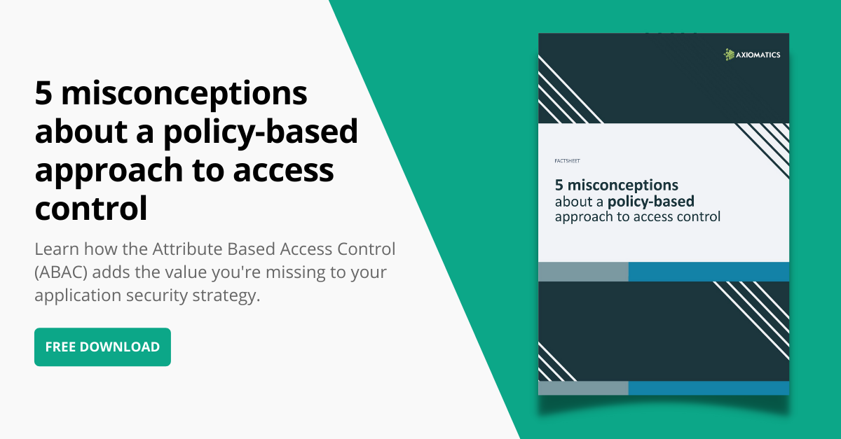 5 misconceptions about a policy-based approach to access control