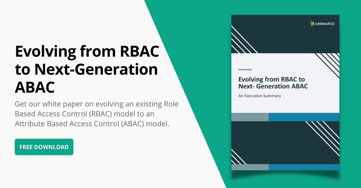 Evolving from RBAC to next generation ABAC